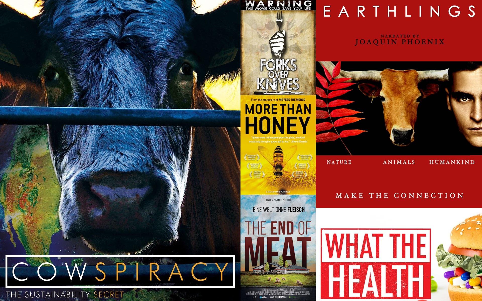 Die besten veganen Filme und Dokumentationen