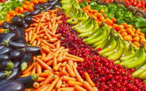 Obst Gemüse Markt Angebot