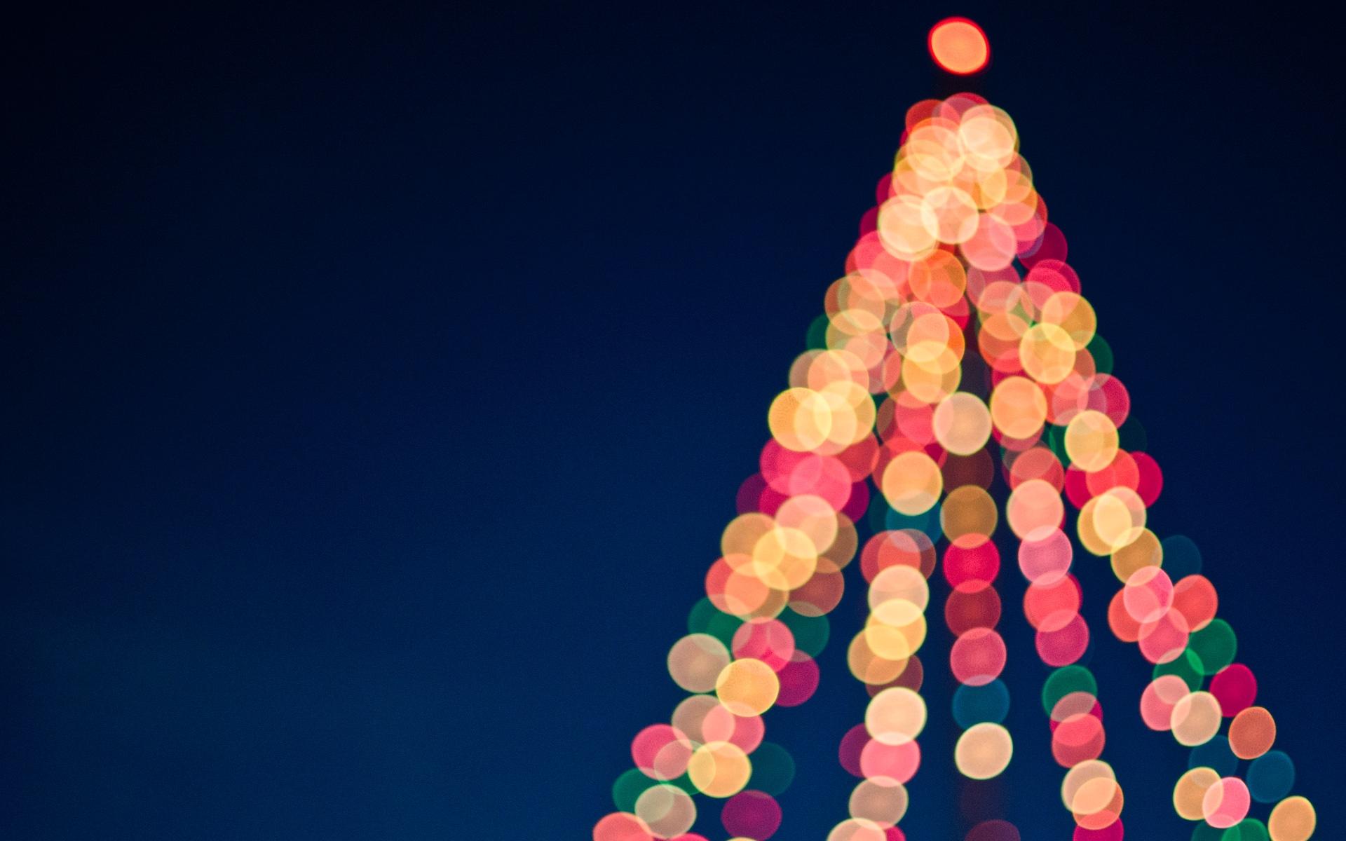 Weihnachtsbaum Markt Lichterketten