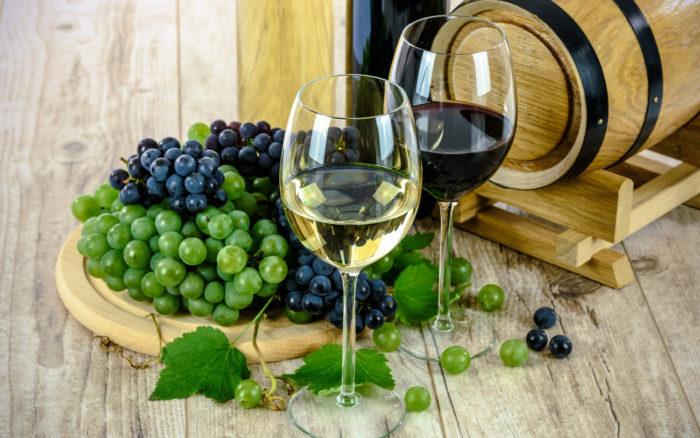 wein rotwein weißwein glas weintrauben pixabay 1761613