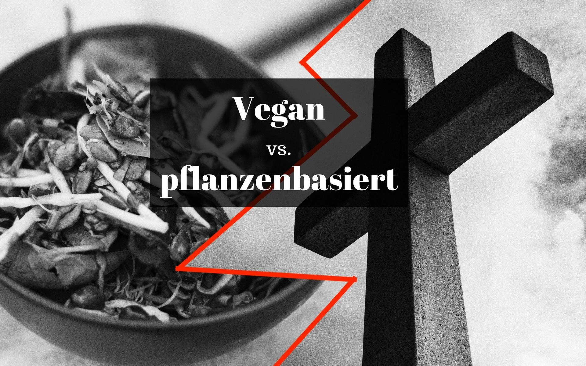 Vegan vs. Pflanzlich: Gibt es einen Unterschied?