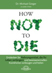 How not to die Buch Cover