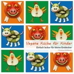 Vegane Küche für Kinder Buch Cover