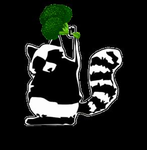 Logo Nutripunk Waschbär