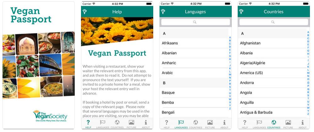 beste vegane apps nutripunk vegan passport ios