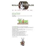 Schlunz Extra Vegan Blog Screenshot