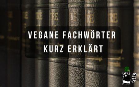 Vegane Fachwörter kurz erklärt