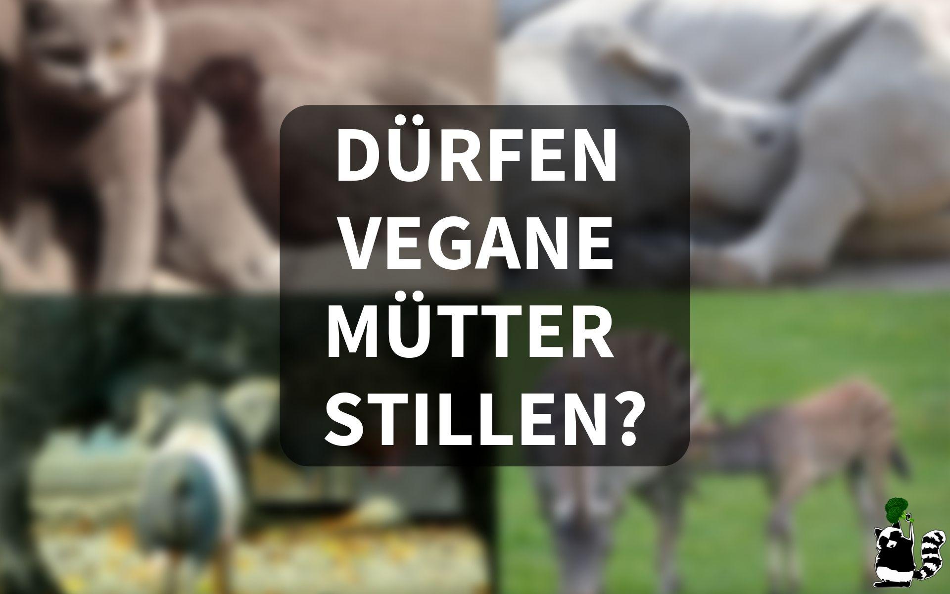 Ist Stillen vegan?