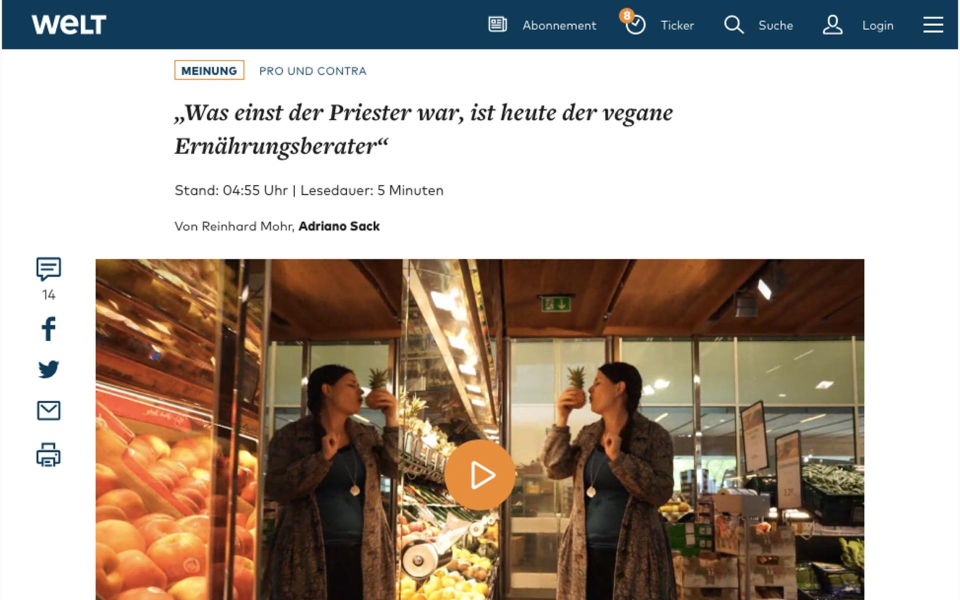 """""""Die Welt"""" glaubt immer noch an Märchen"""