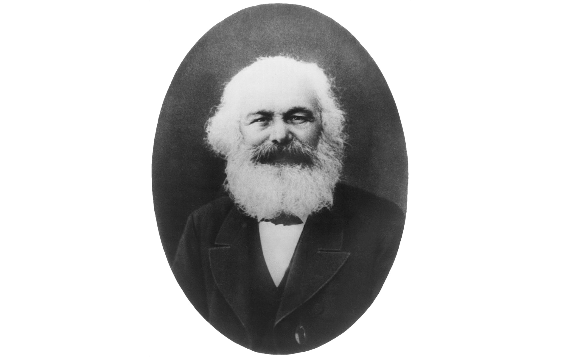 Karl Marx Foto portrait