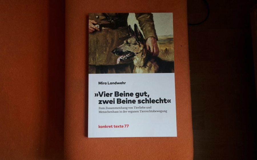 Mira Landwehr Vier Beine Gut Zwei Beine Schlecht Buch Cover Konkret Texte 77 Review