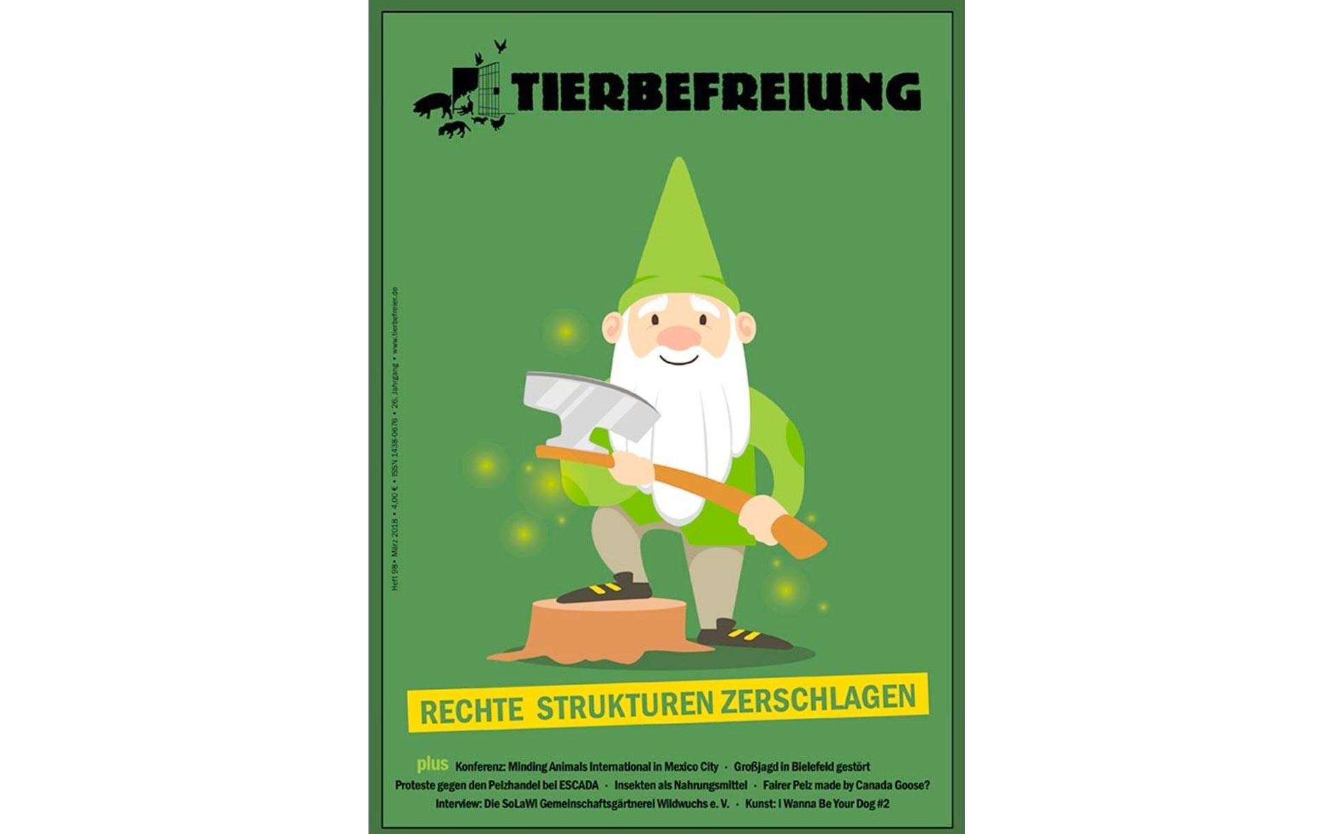 Tierbefreiung Magazin 98 Rechte Strukturen Zerstören Cover